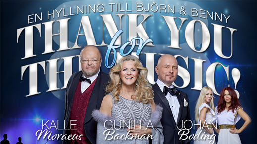 Bild för THANK YOU FOR THE MUSIC - En hyllning till B & B, 2019-11-09, Magasinet Falun