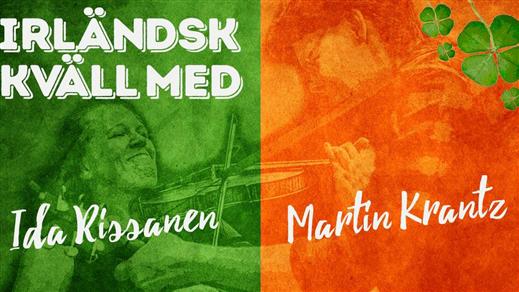 Bild för Irländsk kväll, 2016-11-04, Mats o Karin musik & möten