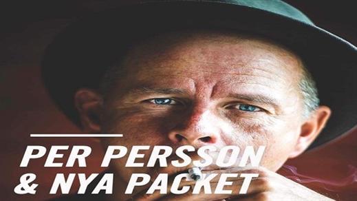 Bild för Per Persson & Nya Packet, 2018-09-22, Teaterfoajén,Storsjöteatern