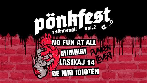 Bild för Pönkfest vol. 2, 2020-09-12, Club Deströyer