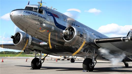 Bild för DC-3:an Daisy under andra världskriget, 2019-06-01, Flygvapenmuseum