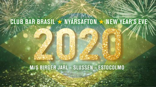 Bild för BAR BRASIL Nyårsafton 2020, 2019-12-31, M/S Birger Jarl