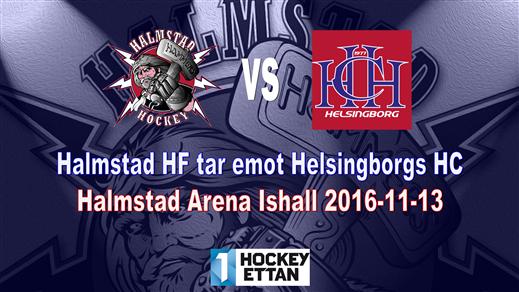 Bild för Halmstad HF vs. Helsingborgs HC, 2016-11-13, Halmstad Arena