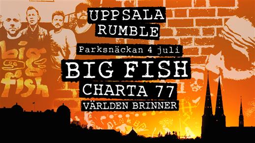 Bild för Uppsala Rumble | Parksnäckan, 2020-07-04, Parksnäckan, Stadsträdgården