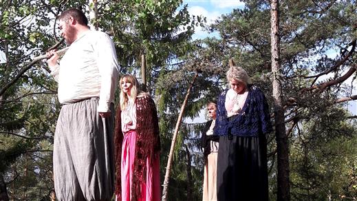 Bild för Dramatiserad guidning i Trollkäringeskogen, 2020-06-27, Trollkäringeskogen, Flasbjörke