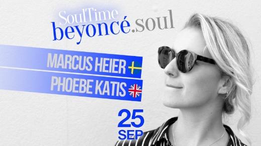 Bild för SoulTime - beyoncé.soul, 2019-09-25, Teatercaféet