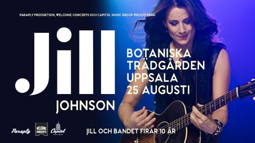 Bild för JILL JOHNSON, 2017-08-25, Botaniska Trädgården Uppsala Universitet