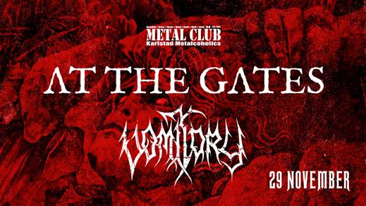 Bild för At The Gates + Vomitory, 2019-11-29, Nöjesfabriken