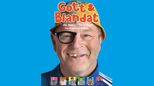 """Bild för """"Gott & Blandat"""" med Jan Rippe och Per Fritzell, 2021-10-29, Jönköpings Teater"""