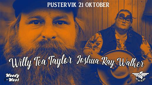 Bild för Willy Tea Taylor + Joshua Ray Walker, 2019-10-21, Pustervik