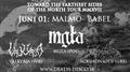 Mgla, Valkyrja, Acrimonious i Malmö