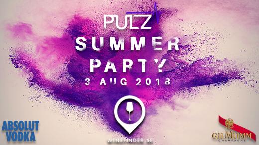 Bild för PULZ Summer Party, 2018-08-03, Club Sirocco