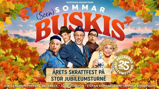 Bild för Scensommarbuskis, 2021-11-03, UKK - Stora salen