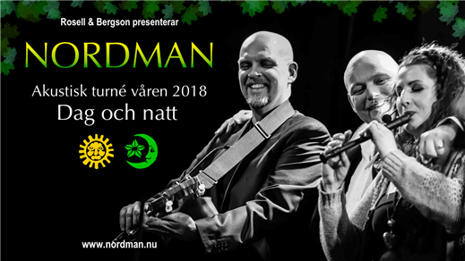 Bild för Nordman - Dag och natt, 2018-03-10, Västerviks Stadsteater