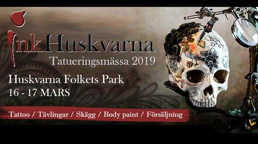Bild för InkHuskvarna Tatueringsmässa 2019, 2019-03-16, Huskvarna Folkets Park