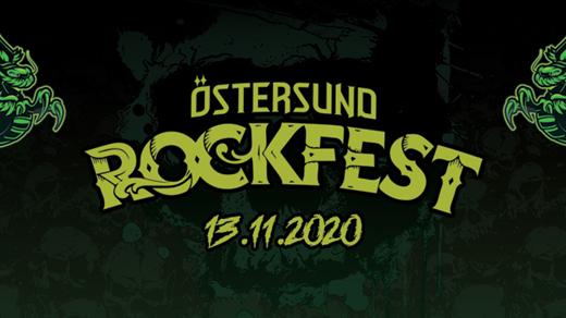 Bild för Östersund Rockfest (Early Bird Biljetter), 2020-11-13, Folkets hus Östersund