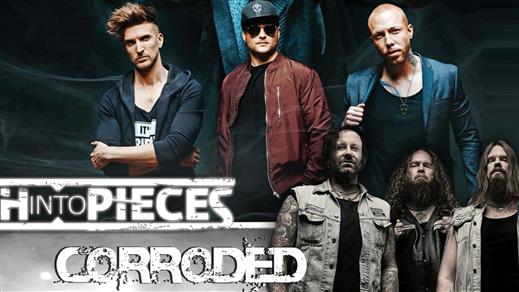 Bild för Smash into pieces och Corroded, 2019-03-23, Halmstad Live
