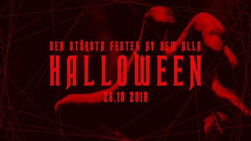 Bild för Halloweenfesten 2018, 2018-10-26, Nöjesfabriken