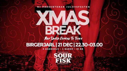 Bild för XMAS BREAK | JULOVSFESTEN | BJ, 2016-12-21, Birgerjarl Nattklubb
