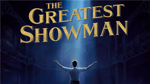 Bild för The Greatest Showman (Sal.2 11år Kl.18:30 1t44m), 2018-01-04, Saga Salong 2
