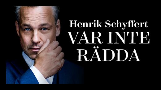"""Bild för """"Var inte rädda"""" Standupshow med Henrik Schyffert, 2018-02-17, Draken"""