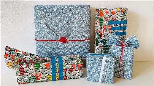 Bild för Japansk paketinslagning, 2020-12-05, Världskulturmuseet