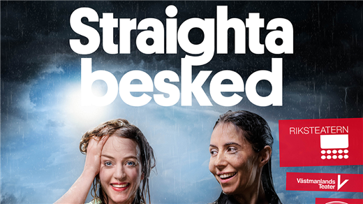 Bild för Straighta besked, 2021-10-22, Årsta Folkets Hus Teater