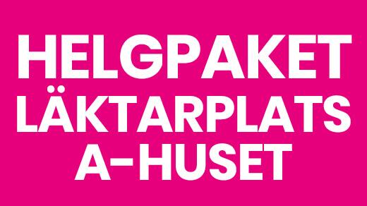 Bild för HELGPAKET LÄKTARPLATS A-HUSET, 2019-05-24, Solvalla | A-huset