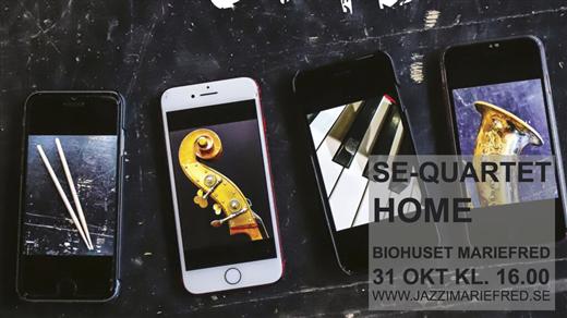 Bild för SE-Quartet – Home, 2021-10-31, Biohuset, Mariefred