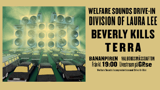 Bild för Welfare Sounds Drive-In, 2020-04-30, Bananpiren