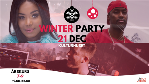 Bild för Winter Party 2018, 2018-12-21, Kulturhuset