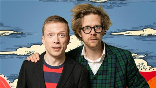 Bild för Så funkar det – The show! Med Anders & Måns, 2021-10-05, Södra Teaterns Stora Scen