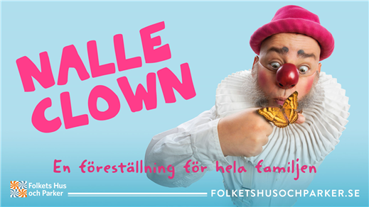 Bild för Nalle Clown, 2021-08-10, Spelgården, Wadköping