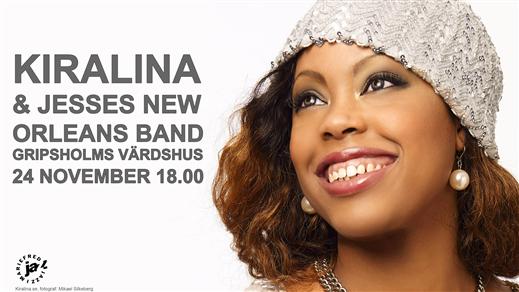 Bild för Kiralina med Jesses  New Orleans Band, 2019-11-24, Gripsholms värdshus
