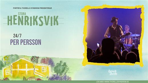 Bild för Per Persson & Nya Packet, 2021-07-24, Stora Henriksvik