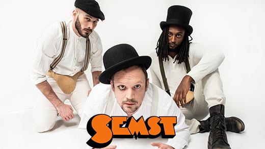 Bild för SEMST - Standup om psykisk ohälsa, 2021-04-10, Jönköpings Teater