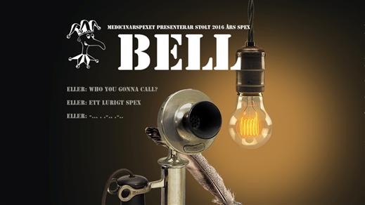Bild för Medicinarspexet - Bell 2/12 19:00, 2016-12-02, Vävenscenen Umeå