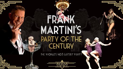 Bild för Frank Martini's Party of the Century Helsingborg, 2021-10-15, Bollbrolyckan, Helsingborg