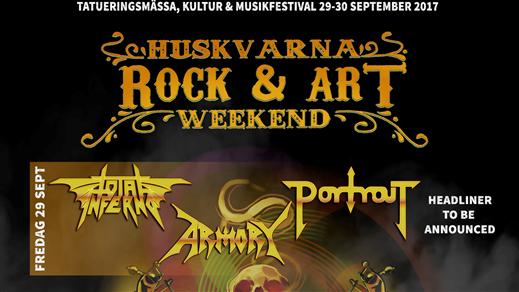 Bild för HUSKVARNA ROCK & ART WEEKEND, 2017-09-29, Huskvarna Folkets Park