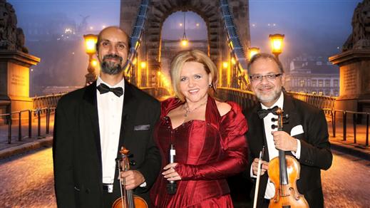 Bild för Magiska Ungerska Melodier: Agnes Visser m orkester, 2019-09-21, Moriska Paviljongen