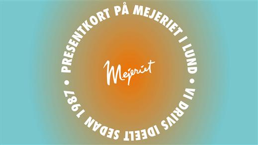 Bild för Presentkort, 2018-10-01, Mejeriet