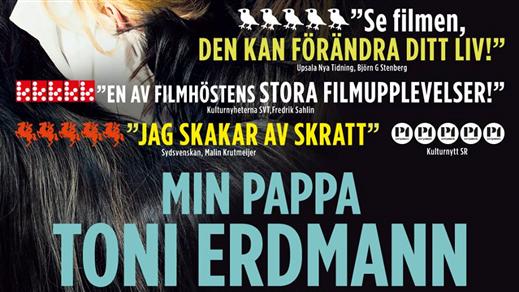 Bild för Min pappa Toni Erdmann (Sal3 15år Kl17.30 2h42m), 2016-11-07, Saga Salong 3