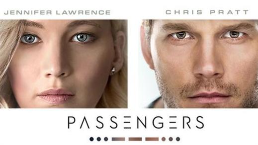 Bild för Passengers (Sal.2 11år kl.20:45 1t56m), 2016-12-25, Saga Salong 2