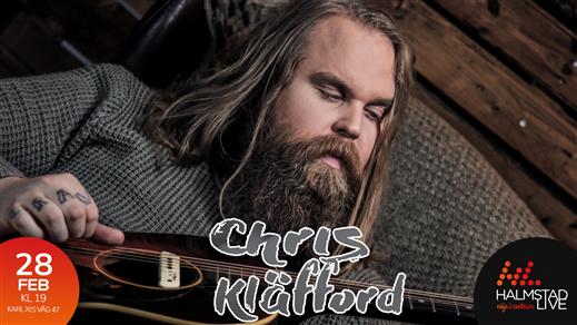 Bild för Chris Kläfford, 2020-02-28, Halmstad Live