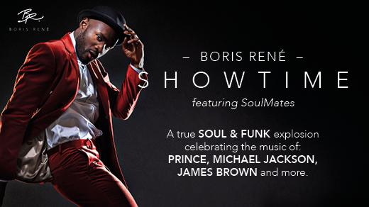 Bild för Boris René feat. SoulMates – Showtime, 2018-04-13, Conventum Kongress