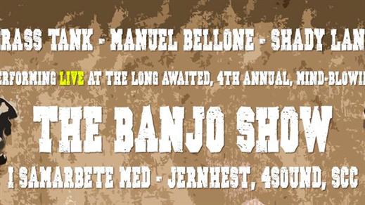 Bild för The Banjo Show 2019, 2019-03-02, Palatset