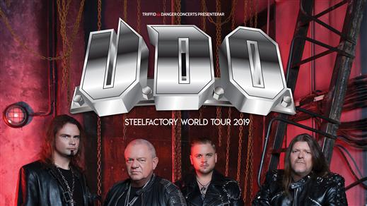 Bild för U.D.O., 2019-03-15, Nöjesfabriken