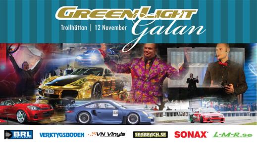 Bild för GREENLIGHT GALAN 12/11, 2016-11-12, Apollon, Folkets Hus Kulturhuset