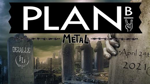 Bild för METALORGIE 2.0, 2021-04-24, Plan B