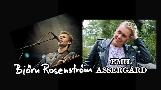 Bild för Björn Rosenström & Emil Assergård, 2018-09-22, Halmstad Live